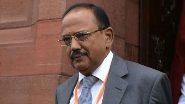 National Security Advisor Ajit Doval arrived in Delhi on friday from Kashmir.
