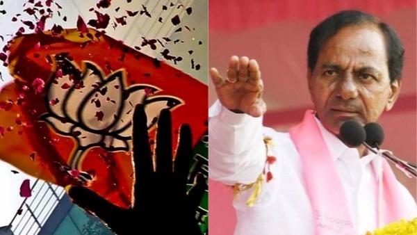 <strong>హిందుత్వ పోటీ తెలంగాణలో పీక్ స్టేజ్.. నువ్వా నేనా అంటూ టీఆర్ఎస్, బీజేపీ బిగ్ ఫైట్</strong>