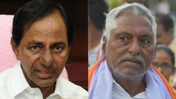 For six years,the gates of corruption have been opened.! Congress mlc Jeevan Reddy fired on kcr..!!