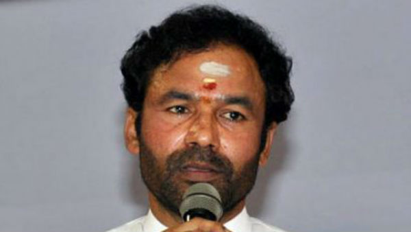kishan reddy fires on trs government for not implement of central welfare schemes
