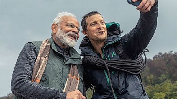 Prime Minister Narendra Modi in Man vs Wild episode with Bear Grylls to air today at 9 pm