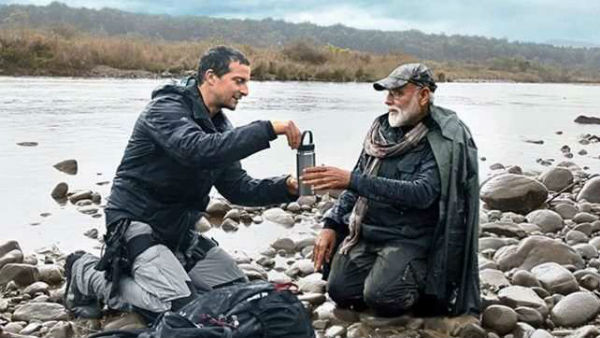 PM Modi has revealed how he talked to British national Bear Grylls in Hindi,
