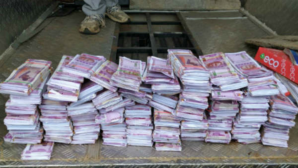 Rs 300 crore worth fake notes seized near Chamrajnagara in Karnataka