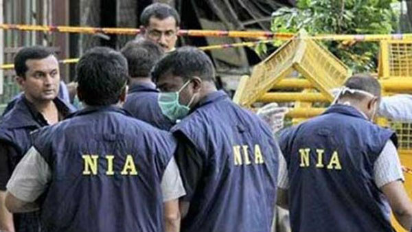 National Investigation Agency conducted raids at 5 locations in Coimbatore in Tamil Nadu.