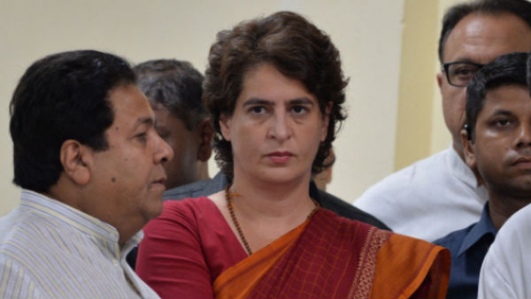 Cancellation of article 370 is unconstitutional.! says Priyanka Gandhi..!!