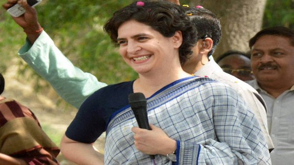 A criminal case was filed against Congress leader Priyanka Gandhi Vadra