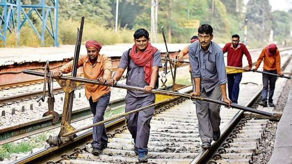 A man who has graduated from IIT Mumbai joined the Railway as a Group D employee,