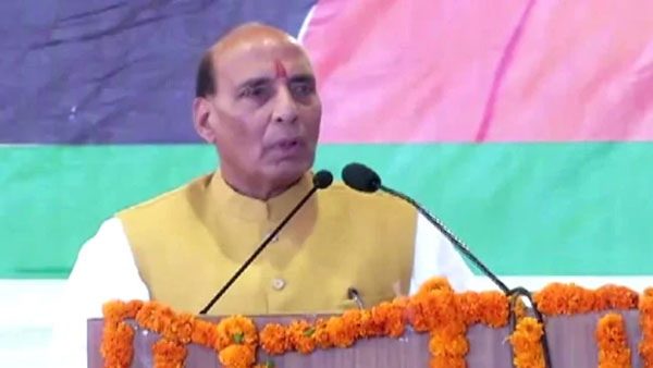 India will hold talks only on PoK, Union Defence Minister Rajnath Singh said