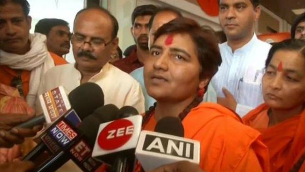 Ram Mandir will be built and the nation will witness that: Sadhvi Pragya singh