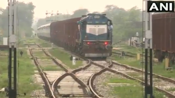 Rail coaches were divided from the Vishakha Express near Narsipatnam