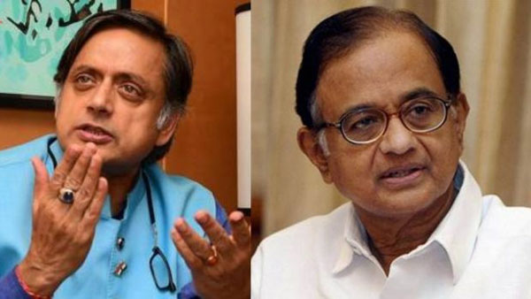 Shashi Tharoor Backs Persecuted Chidambaram With A Tweet And A Big Word
