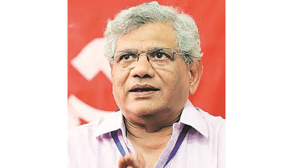 With SC order, Sitaram Yechury leaves for Srinagar to meet ailing colleague