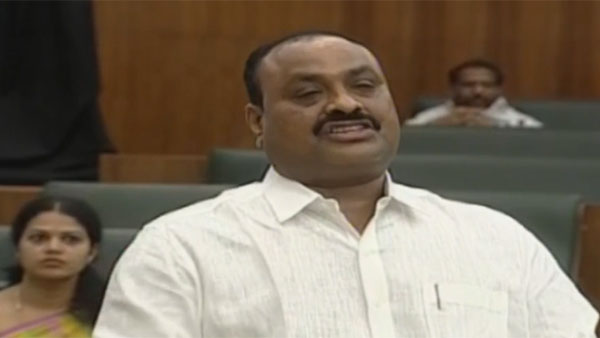 TDP MLA Atchannaidu booked for attacking on duty police at Chalo Palnadu agitation