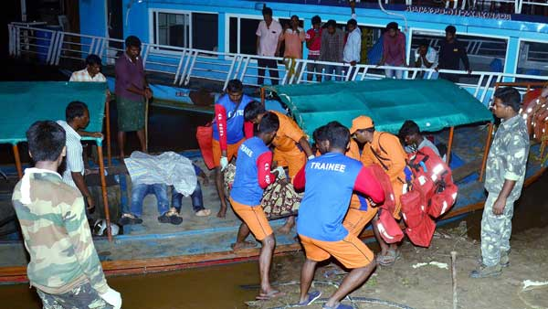 Live updates:Boat accident in East Godavari district of AP