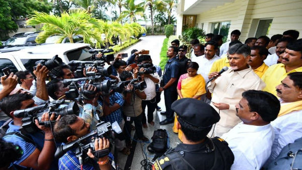 AP police served notices to Chandrababu naidu