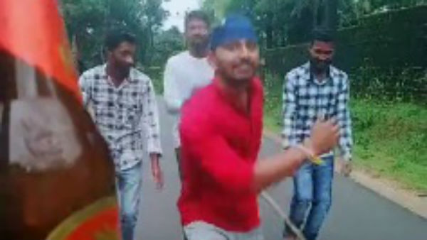 Video of boys who danced with bottle and apolized gone viral in Karnataka