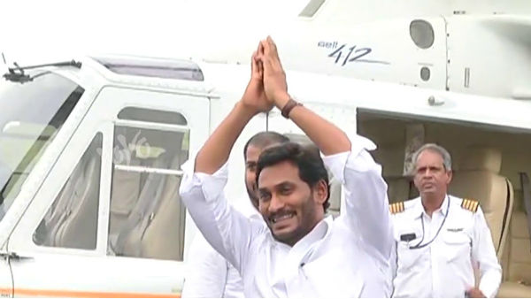 CM Jagan helicopter landing dispute .. notices issuued to seven officials