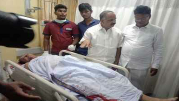 former minister balireddy satyarao died in a road accident