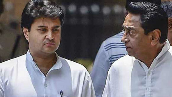 Differences in MP congress at peak,Scindia targets Kamalnath