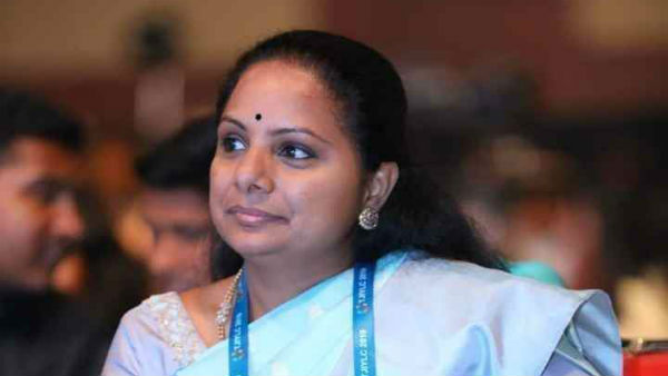 The former MP Kavitha is taking treatment in Yashoda Hospital for fever..!!