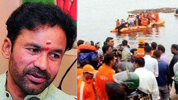 Kishan Reddy asked Jagan government to submit a report on boat mishap