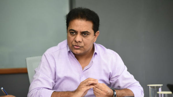 Plans should be created on quick enhancement and progovernance..! says ktr