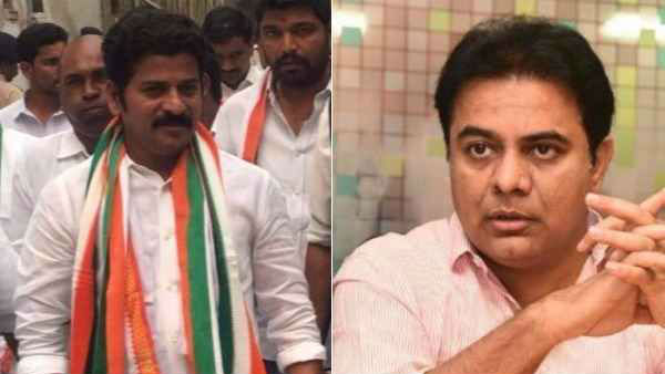 revanth reddy and ktr twitter war on uranium issue