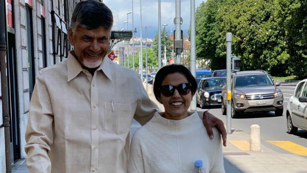 former minister Nara Lokesh wishes his father chandrababu and mother Bhuvaneswari for wedding anniversary