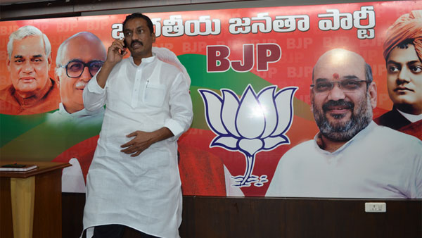 BJP SPOKES PERSON RAGHUNANDAN RAO FIRES ON CM KCR