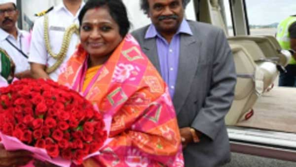 telangana new governor tamilisai soundararajan oath ceremony in Raj Bhavan