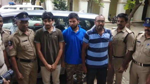 Three youth was arrested by the police who created false propaganda on Tirumala Tirupati Hills