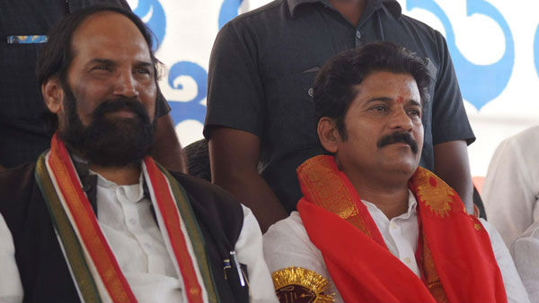 revanth reddy fires at Uttam Kumar Reddy for Huzurnagar ticket issue