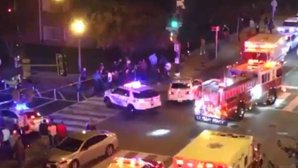 Multiple people shot on streets of Washington DC