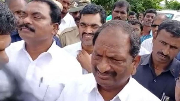 telangana ministers faced protest from public in jagtial district