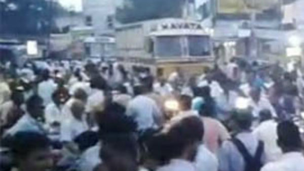 Case filed on YCP MLAs Son due to Birthday celebrations In main road