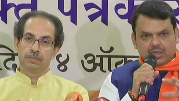 maharashtra seat sharing: bjp 164, shivasena 124 places will be contest