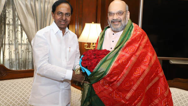 CM KCR meeting ended with Union Home Minister Amit Shah, meets pm narendra modi