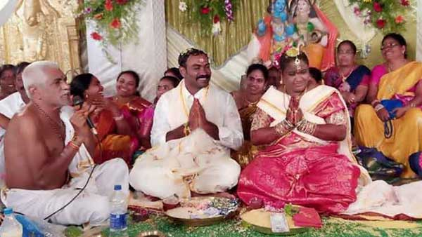 Simple Marriage of YCP MP Madhavi .. Jagan To attend Reception