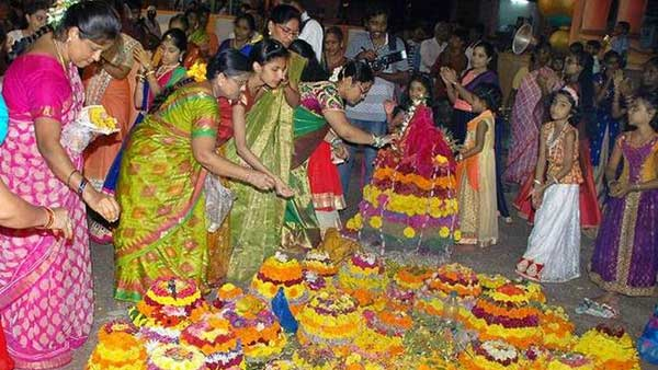 How Saddula Batukamma celebrated in Telangana