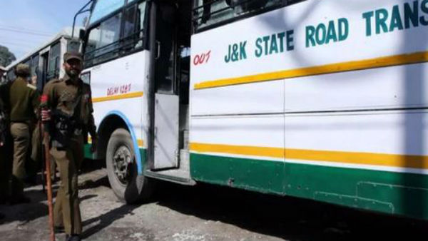 15 kgs of explosives have been found in a bus at the Jammu bus stand.