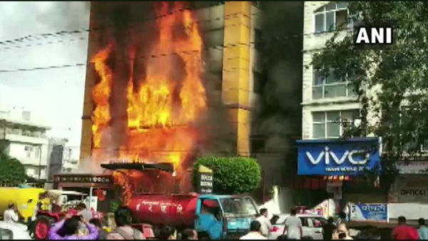 Fire Breaks Out At Hotel In Indore, No Injuries Reported