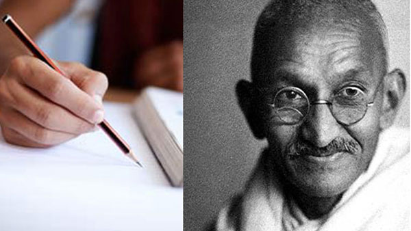 Shocking questions in the exams ... How did Gandhiji commit suicide? How to increase alcohol sales?
