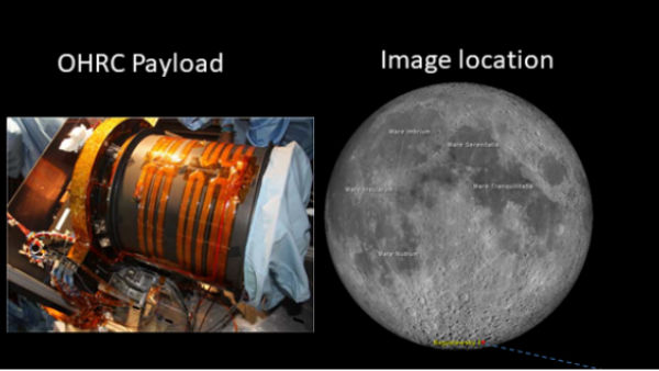 ISRO releases High Resolution photos of moon sent by Orbitor