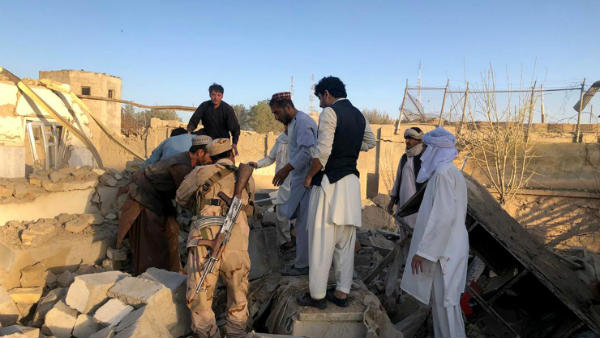 20 Killed in Two Blasts in Nangarhar Mosque in Afghanistan, says Afghan Officials