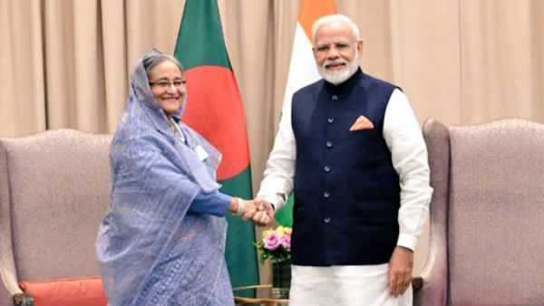 PM Modi and Sheik Hasina holds bilateral talks, sign pacts