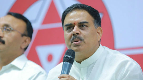 nadendla manohar writes a letter to dgp on janasena party case issue
