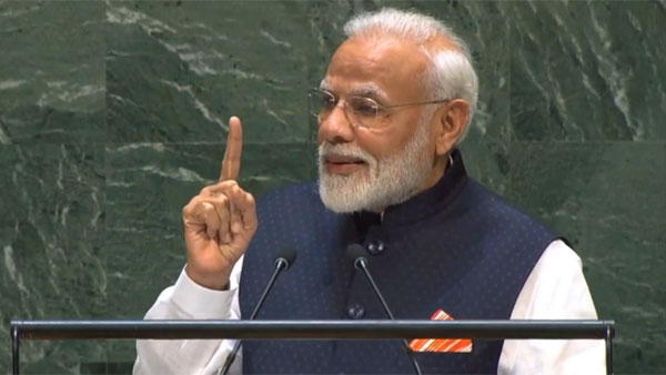 Modi tells those questioning link between Article 370 and Maharashtra polls