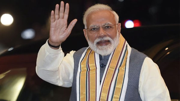 PM Narendra Modi reaches Rajouri to celebrate Diwali with troops on LoC in Jammu and Kashmir