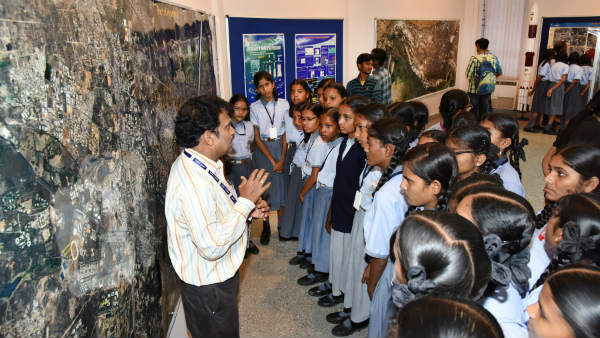 world space week exhibition at nellore shar centre
