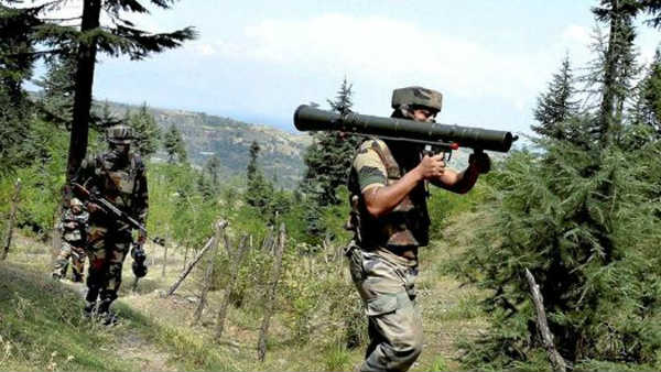 Two soldiers and one civilian have been killed in Jammu and Kashmir